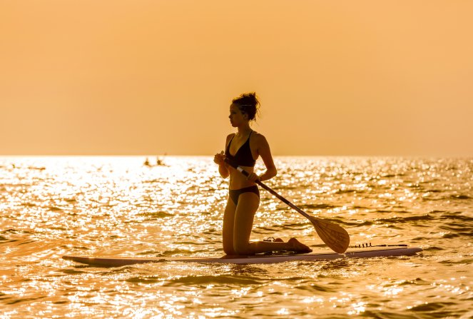Gruppenreise nach Orbetello - Stand-Up-Paddling